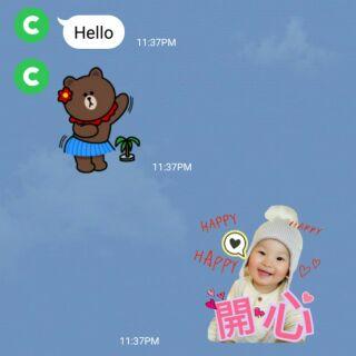 客制化貼圖 LINE 貼圖製作 寶寶貼圖 靜態貼圖製作