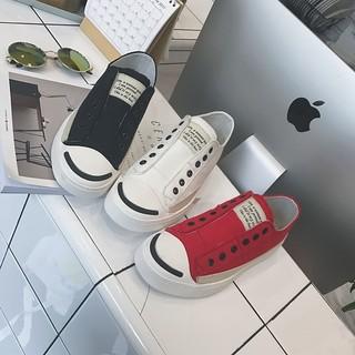 東京衣櫃17型男鞋子林彎彎時尚日韓帆布鞋潮男士板鞋韓版青少年套腳懶人鞋