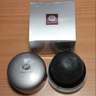Kikumoto 菊原 真珠美容皂 (黑色)珍珠美容皂 珍珠洗顏皂