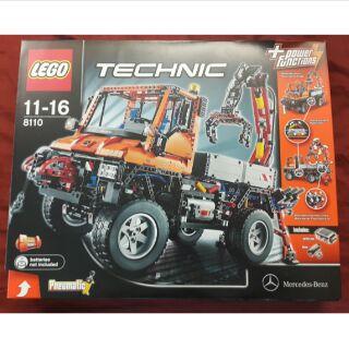 LEGO 8110 Technic 科技系列 賓士車 Mercedes-Benz Unimog