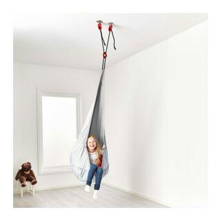 IKEA 出清特賣 SAGOSTEN氣墊 EKORRE吊椅,銀色 EKORRE掛勾盪鞦韆 數量稀少 賣完為止