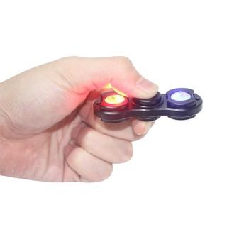 附發票LED鋁合金陀螺 指尖陀螺 LED炫光 美國爆款EDC 手指陀螺 LED陀螺 夜光陀螺 閃亮陀螺