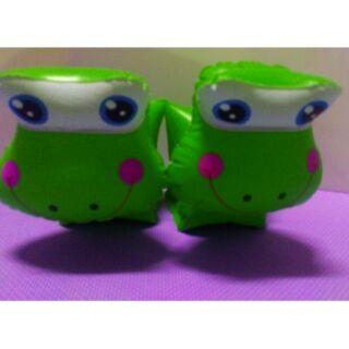 (Q89)充氣玩具兒童手臂游泳圈青蛙造型$60元