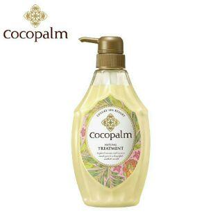 日本SARAYA Cocopalm 柔潤修補護髮素 護髮乳 600ml