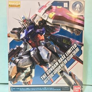 可面交 東京Gundam Base限定 MG 1/100 翔翼型攻擊鋼彈 Ver.RM 透明配色版