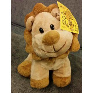 可愛绒毛 撒哈拉 奶油獅造型玩偶