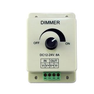 DC12V 24V LED 調光器PWM 電壓調整器 輸出電流8A