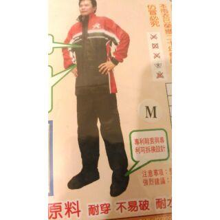 天德牌雨衣 天德R2 兩件式雨衣 雨衣雨褲 黑色M號 摩托車雨衣 風雨衣