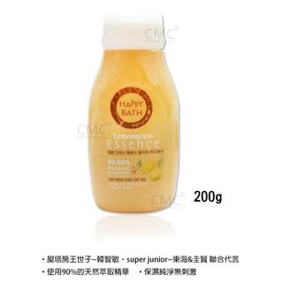 韓國 HAPPY BATH 純淨香氛精華沐浴乳(檸香) 200g