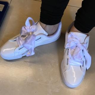 PUMA緞帶鞋 UK6.5