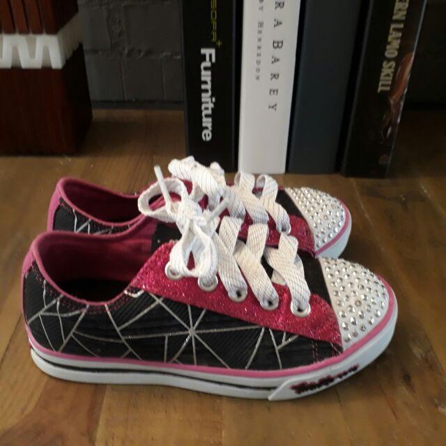 Skechers女童鞋(Twinkle toes閃亮鞋)