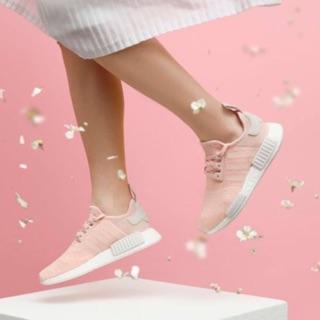 Adidas NMD R1 W 乾燥粉 新款 AQ1161 Successful R-Man