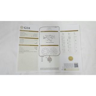 全新品 商品編號968 GIA鑽石項鍊、主鑽1.01克拉、8心8劍
