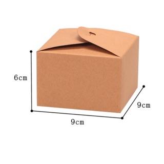 牛皮包裝紙盒 西點盒 娃娃機夾物盒