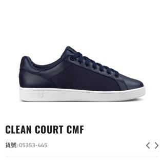 K-SWISS 男 休閒鞋 海軍藍/白 CLEAN COURT CMF 05353-445