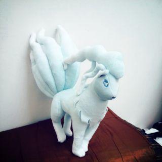 神奇寶貝 阿羅拉九尾 娃娃 出清