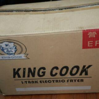 全新二手 專業油炸機  King Cook 營業用  桌上型油炸機 油炸爐 油炸鍋