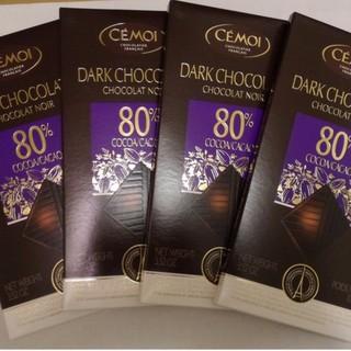 好市多80% 黑巧克力 4入