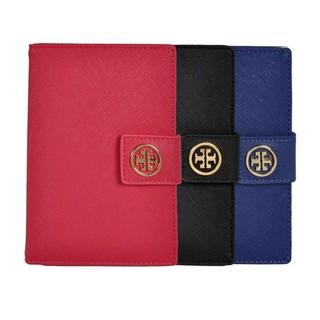 Tory Burch 十字紋 真皮 護照夾 票夾 卡夾 出國 旅行 護照包 卡包 母親節 情人節 生日禮物 錢包 短夾