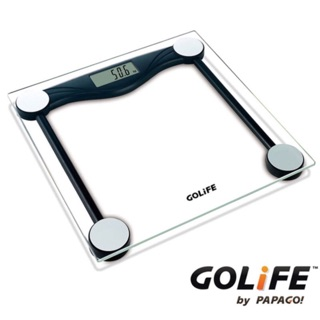 GOLiFE Fit Plus 藍芽智慧 BMI 電子體重計 (by PAPAGO) 黑