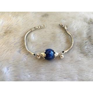 藍晶石銀手鍊