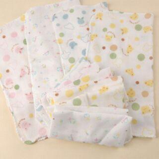 雙層紗布手帕口水巾