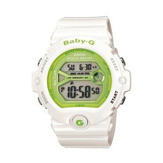 BABY-G BG-6903-7 熱愛慢跑運動/60組馬錶記憶/夜間慢跑將手腕傾斜,可自動照明錶盤