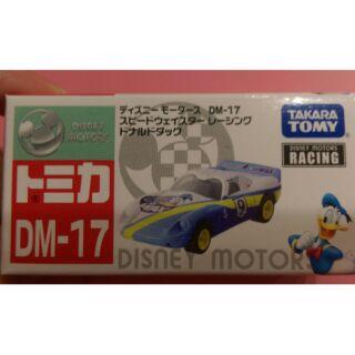 Tomica 夢幻唐老鴨超級跑車 dm-17