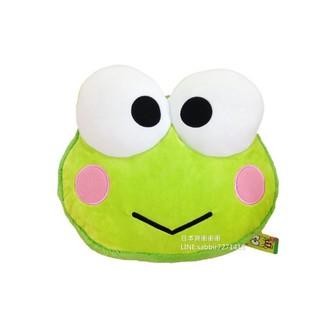 【唯愛日本】 16071500003 馬卡龍頭型抱枕-大眼娃 青蛙 大眼蛙 三麗鷗 抱枕 靠枕 靠墊 居家生活