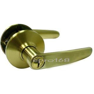 《東隆》幸福牌 Lucky TH0C30 60mm 高級管形扳手鎖 砂面金 浴廁門鎖 水平鎖 台灣製