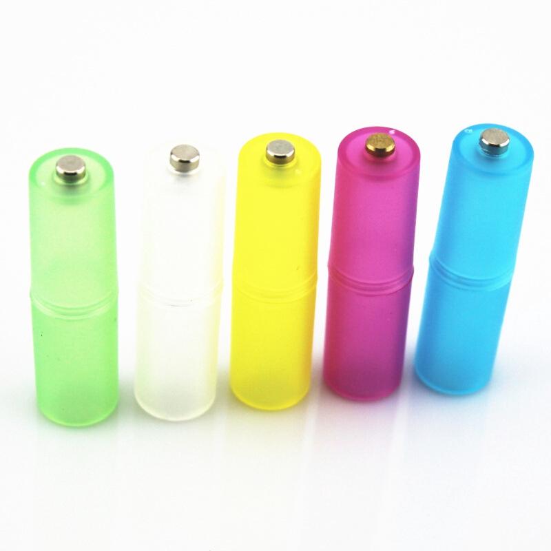 電池轉換筒4號AAA 電池轉換成 3號AA 電池盒
