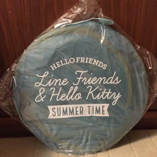 [已有客訂.請勿下單]LINE FRIENDS X HELLO KITTY 簡易帳篷 三麗鷗合法授權 小朋友的玩具小帳篷