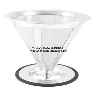 【TDTC 咖啡館】 JUNIOR 2~4人份 不鏽鋼濾杯 / 濾器 / 濾網 ( 黑 / 紅 )