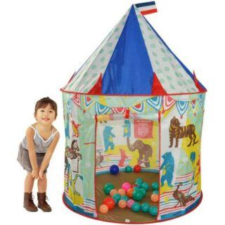 大量現貨免等藍色馬戲團帳篷 兒童遊戲屋 兒童遊戲帳篷 馬戲團帳篷