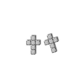 羅亞戴蒙 ROYAL DAMON - KE0137 信仰- 316L鋼耳環