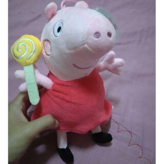 佩佩豬  粉紅豬小妹 玩偶 6英寸