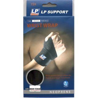LP WRIST WRAP 739 單片纏繞式腕部護套 (黑色/ 單支裝)