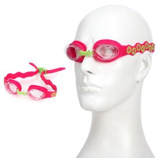 SPEEDO Seasquad 女兒童泳鏡 (蛙鏡 游泳 戲水 海邊 海灘 防霧 粉紅綠