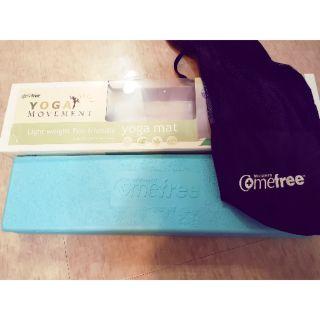 (正品) Comefree 羽量級摺疊二手瑜珈墊 九成五新 含運