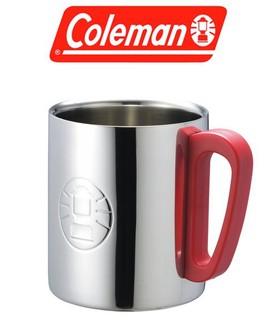 美國Coleman│CM-9484 不鏽鋼斷熱杯300㏄│紅│雙層隔熱杯 隔熱杯│大營家購物網