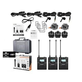 COMICA CVM WM300A 全金屬 廣播級無線 麥克風領夾 無線 一對二 公司貨 直撥 行動電源
