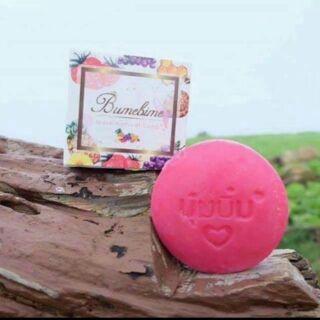 泰國正品Bumebime美白皂天然手工皂100克水果手工皂