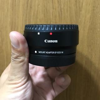 全新公司貨保固到明年5月 / canon EF-EOS M M5轉接環