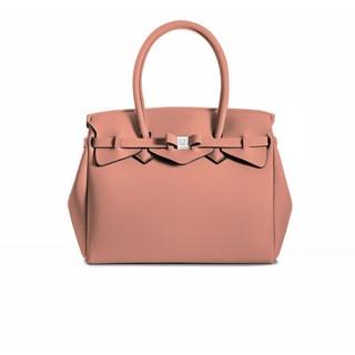 SAVE MY BAG MISS系列 超輕量手提托特包【現貨】乾燥玫瑰色