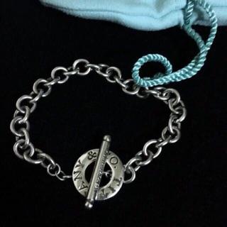 Tiffany & Co Toggle 純銀手鍊