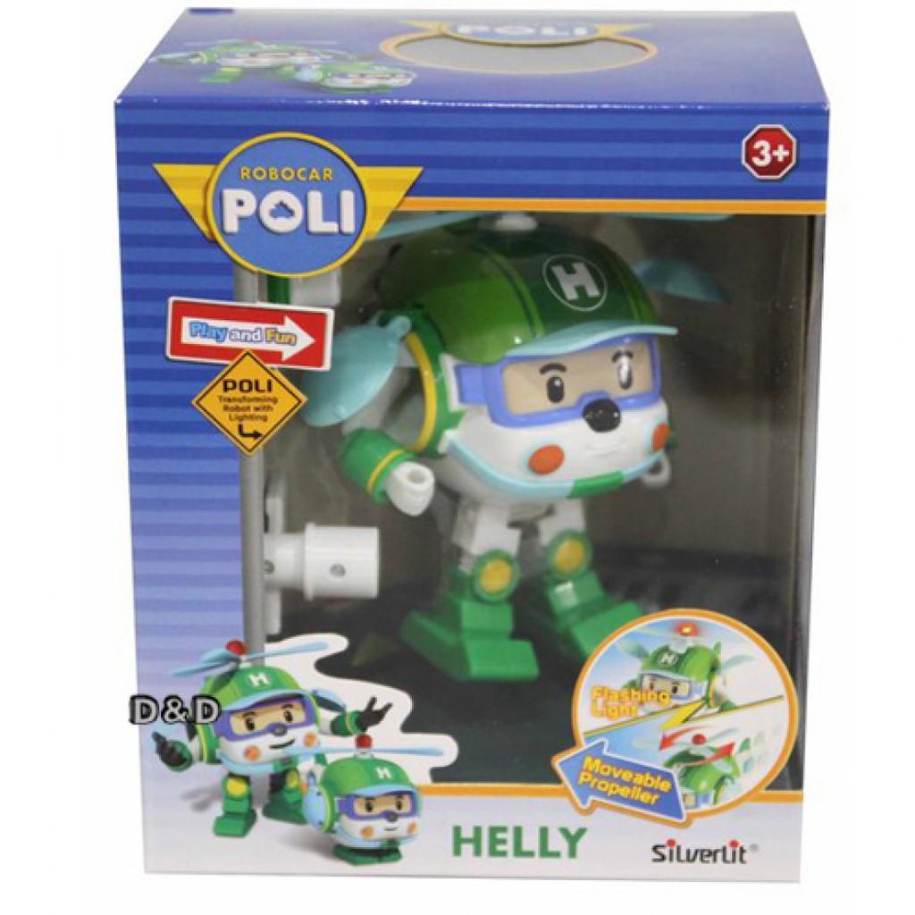 《 POLI 波力 》變形車系列 - LED變形赫利