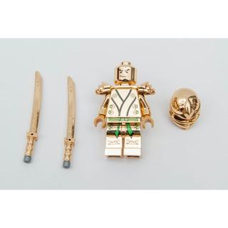 第三方 LEGO 樂高  電鍍 勞埃德 旋風忍者  綠忍 Lloyd 70503 70505