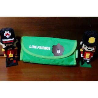 Line熊大尼龍筆袋