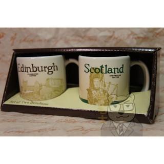 [熊老大] 星巴克城市杯 愛丁堡+蘇格蘭 對杯