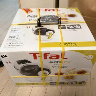 全新法國製特福頂級T-fal Acti Fry 自動翻炒電子多功能料理健康氣炸鍋( 白色)